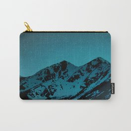 Mountains at night I // Boulder Colorado Carry-All Pouch