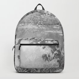 Claude Monet a Giverny Backpack