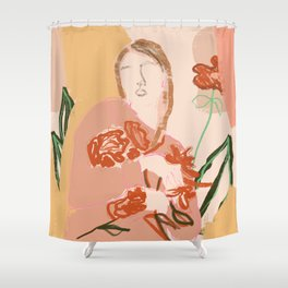 Feel sound of nature again Shower Curtain