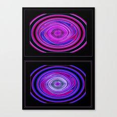 Abstract Modern Circles. Canvas Print