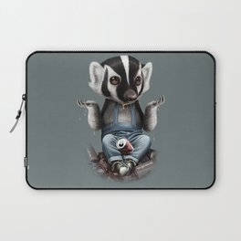 BADGER TAKES ALL Laptop Sleeve