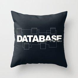 Database Administrator Throw Pillow