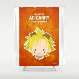 LoL: Ezreal ADC Shower Curtain