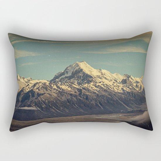 Vintage Mountain Rectangular Pillow