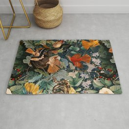 Birds and snakes Rug