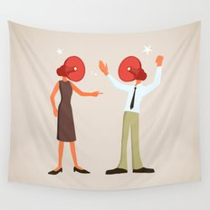 A Very Loud Argument Wall Tapestry