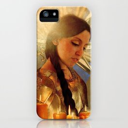 Joan d' Arc iPhone Case