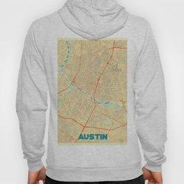 Austin Map Retro Hoody