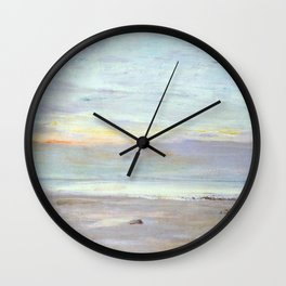 Crepuscule In Opal Trouville By James Mcneill Whistler | Reproduction Wall Clock