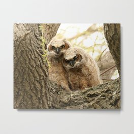 Rest your head on my shoulder Metal Print