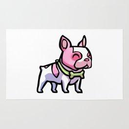 Pink Gorilla X Enfu Bulldog Rug