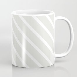 Ice Diagonal Stripes Coffee Mug