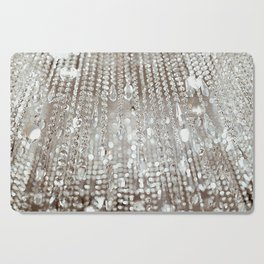 Crystals and Light Cutting Board