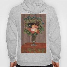 Bouquet of Flowers - Henri Rousseau Hoody