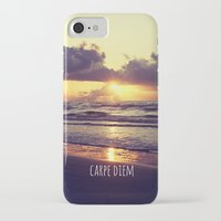carpe diem iPhone & iPod Cases featuring Carpe Diem by Libertad Leal Photography