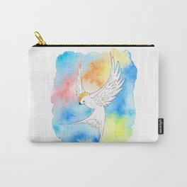 Shatter Me Bird in Flight Carry-All Pouch