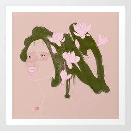 Magnolia (Mulan) Art Print