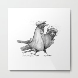 Attempted Murder Pun Metal Print