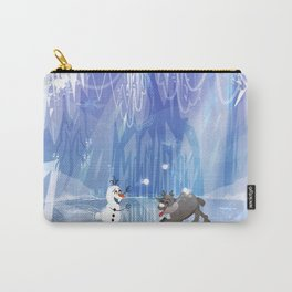 """""""Olaf and Sven on ice""""  Carry-All Pouch"""