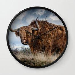 Bull animal 4 Wall Clock