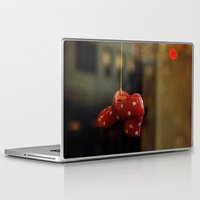 polka dots Laptop & iPad Skins featuring Polka Dots by Bella Blue Photography