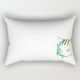 Frustrated Neo Rectangular Pillow