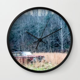 Left to Rust Wall Clock