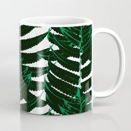 Green tropical Coffee Mug