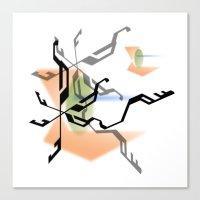 random Canvas Prints featuring Random by Robin Curtiss