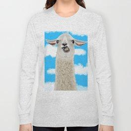 Derp Llama Long Sleeve T-shirt
