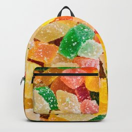 colorful gummy candy squares Backpack