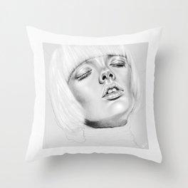 + DARK PARADISE + Throw Pillow