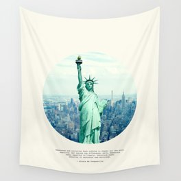 Alexis de Tocqueville Quote Wall Tapestry