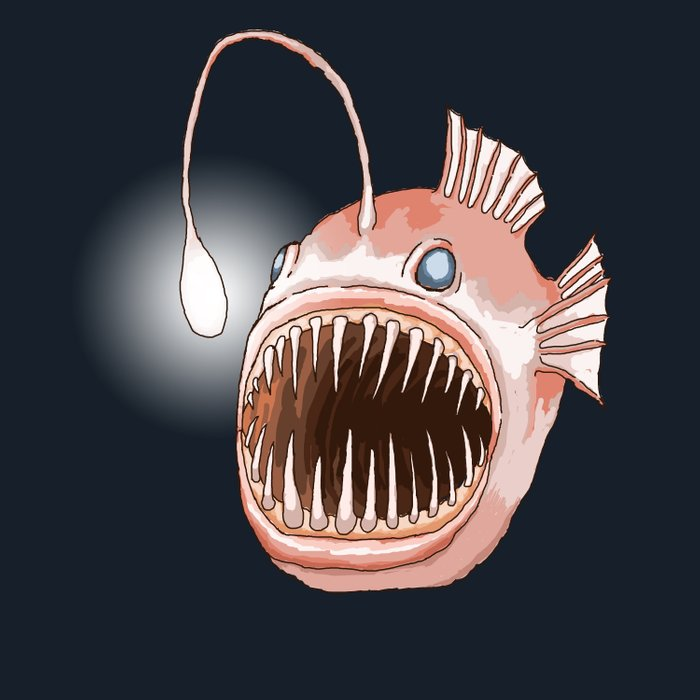 Anglerfish Comforters