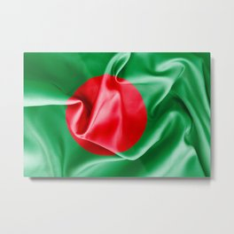 Bangladesh Flag Metal Print