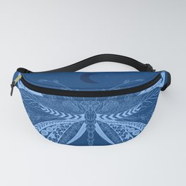 Midnight Butterfly Fanny Pack