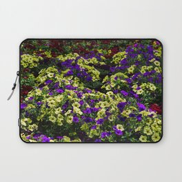 Waves of Petunias Laptop Sleeve