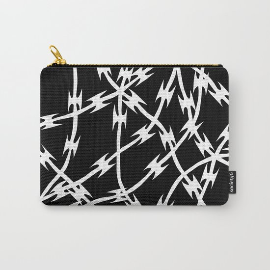 Barb Black Carry-All Pouch