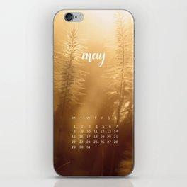 May 2017 Calendar iPhone Skin
