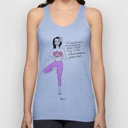 Libra Yoga Unisex Tank Top
