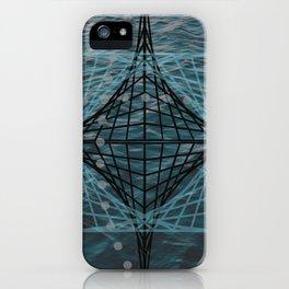 Designer #3 time space iPhone Case