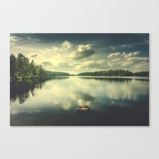 When in doubt Canvas Print