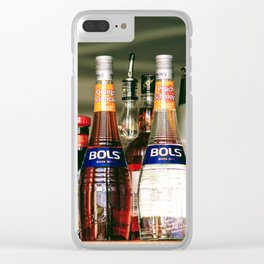 All Bottled Up Clear iPhone Case