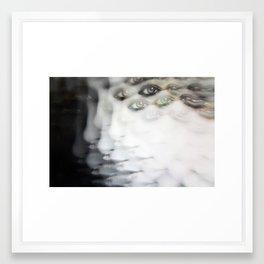 She Multiplies before your Eyes Framed Art Print