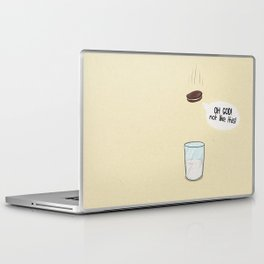 a biscuit's journey Laptop & iPad Skin