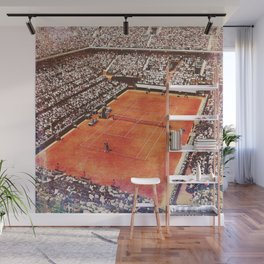Roland Garros Tennis Wall Mural