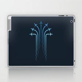 Crossing the sky Laptop & iPad Skin