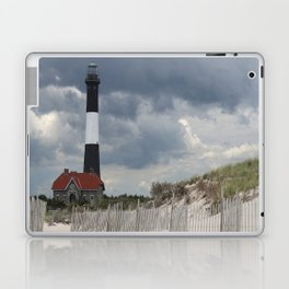 Fire Island Light From The Beach Laptop & iPad Skin