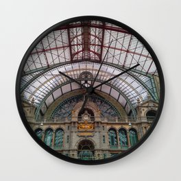 Antwerp Central Train Station Wall Clock