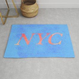 New York Print Rug
